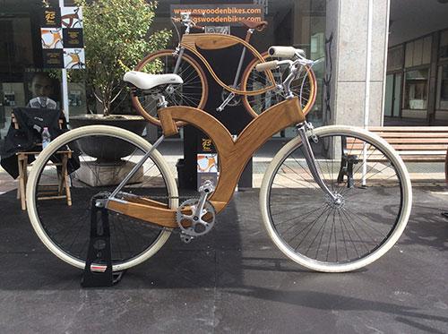 Giorgio Speciale Wooden Bike