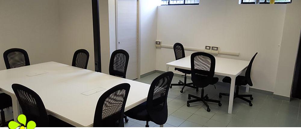 Ufficio arredato 1 del Loft Coworking Milano